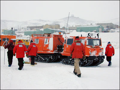 Sea ice class and Hagglund