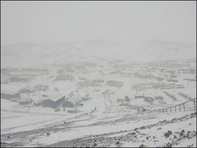 McMurdo Station in condition 2