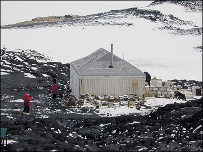Cape Royds hut