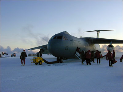 C-141 on the Ice