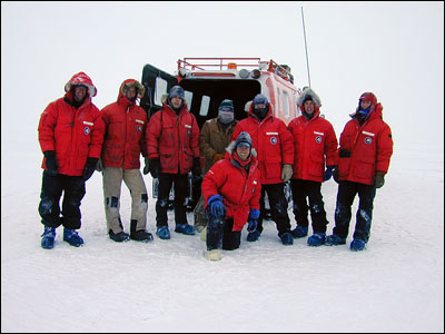 Our sea ice training class