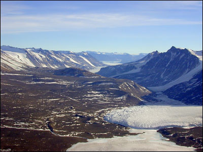Taylor Valley and the Canada Glacier