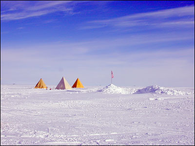 Tents at Byrd Surface Camp
